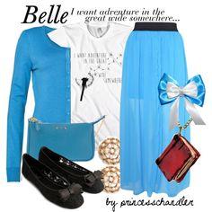 """""""Belle"""" by princesschandler on Polyvore"""