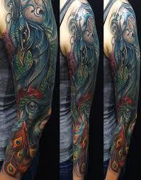 asian peacock tattoo - Google Search