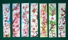 http://beatrizlamasoliveiraart.blogspot.pt/  Para ter flores sobre os marcadores de livros é um prazer. Hoje em dia, é possível obter marcadores de livros pintados com aguarela, aqui está uma boa coleção de marcadores de livros com flores e pintados com aguarela.
