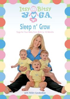 Itsy Bitsy Yogas Sleep n Grow DVD Yoga for Your Baby from Birth to 10 Months with Helen Garabedian ** Click on the image for additional details. (This is an affiliate link)