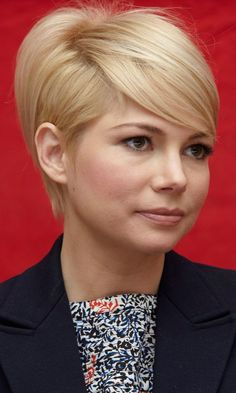 Michelle Williams - Spring 2013 I think I really want short short hair.