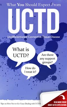 "What is undifferentiated connective tissue disease (UCTD)? Click https://plus.google.com/106749088806096753384/posts/eGqMzCHtii8 to learn more. Go to http://www.facebook.com/LupusEncyclopedia or follow me on Twitter at http://twitter.com/... to get daily tips on living with and fighting the symptoms of lupus and related problems such as arthritis, fibromyalgia, and Sjögren's syndrome. It also answers questions such as ""What is lupus?"" and ""What causes lupus?"""