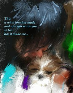 This is what love has madehttp://www.thesunthemoonthestarsandmaya.com/2013/09/this-is-what-love-has-made/  #shih tzu #puppies #books #spiritual