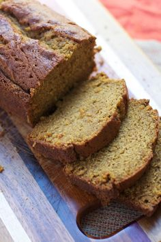 Easy One bowl Pumpkin Bread