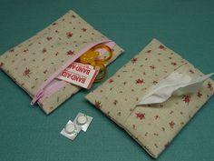 ポケットティッシュ入れ付きミニポーチの作り方|ソーイング|編み物・手芸・ソーイング|アトリエ|手芸レシピ16,000件!みんなで作る手芸やハンドメイド作品、雑貨の作り方ポータル