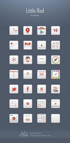 A little Red Icon on Behance