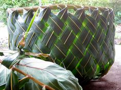 Coconut Frond Baskets by mk.carroll, via Flickr