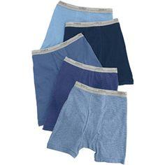 Hanes - Boys' Boxer Briefs, 5-Pack