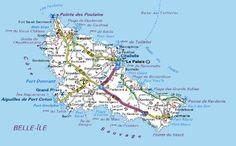 belle ile en mer - Bing Images - carte