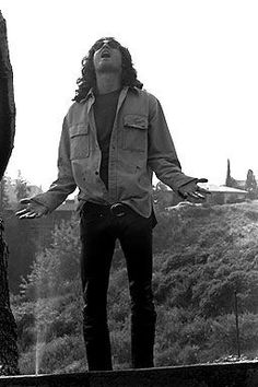 Jim Morrison by Paul Ferrara.