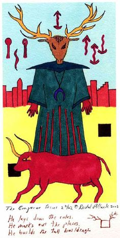 The Emperor from the Shining Tribe Tarot