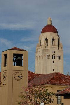 Palo Alto, CA : Hoover Tower from Stanford University