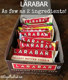 """Two """"Real Food Approved"""" Store Bought Snacks - Larabar and  Peeled Snacks"""