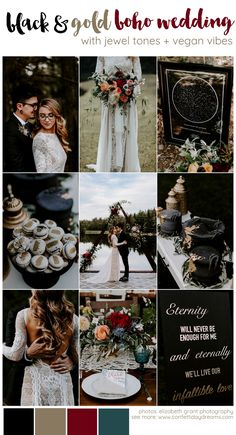 black wedding Sustainable Boho Vegan Wedding at Summer Solstice Wedding Trends, Wedding Tips, Boho Wedding, Summer Wedding, Rustic Wedding, Wedding Planning, Dream Wedding, Wedding Day, Wedding Hacks