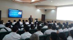 Charla de #Ética Profesional impartida a los institutos Rafael Heliodoro Valle y San Francisco de Asís en #UTH campus San Pedro Sula #Honduras