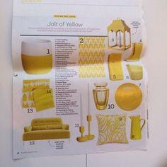 Jolt of yellow
