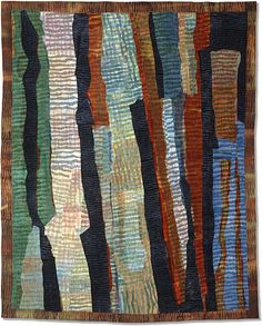 Judy Langille. Striped formations.