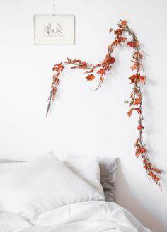 Guirlande décorative à faire pour fêter l'arrivée de l'automne
