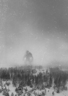 It is believed that this is the only photo in existence of the Great Norwegian Mountain Troll. It was taken in December 1942 by the crew of an RAF recon flight 300 miles north of Berge. ( CT, from film Troll hunter )