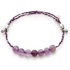 Amethyst Precious Threads Bracelet