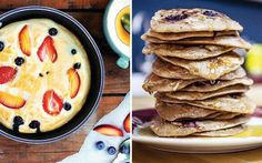 There's no need to wait until Shrove Tuesday to get your pancake fix - these recipes make the perfect weekend brunch.