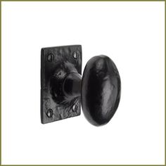 TC550 Oval Mortice Door Knob