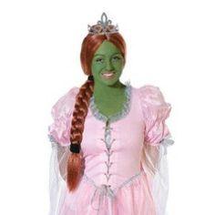 Bristol Novelty Auburn Princess Wig With Tiara Wigs Women's One Size Bristol Novelty Fancy Dress Wigs, Halloween Fancy Dress, Dress Up, Princess Fiona, Disney Sweatshirts, Braids Wig, Super Party, Costume Wigs, Tk Maxx