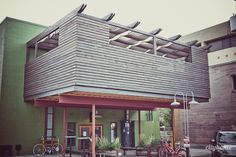 Stoneground Pizza Patio #urban #design