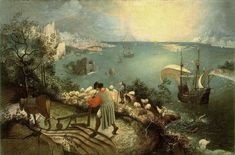 Pieter Bruegel the Elder - The Fall of Icarus |© Royal Museums of Fine Arts Brussels/ WikiCommons
