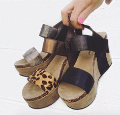 Just your favorite wedge at the PD! Shop the 'New Heights' wedges online now! | Link in bio. #shopPD
