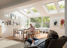 Single storey extension ideas and inspiration using VELUX roof windows. Warm Roof, Single Storey Extension, Conservatory Roof, Bury St Edmunds, Roof Window, Mobile Home, Extensions, Home Goods, Home Improvement