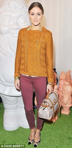 Olivia Palermo - Mulberry bag
