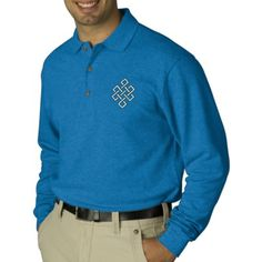 The Endless Knot Embroidered Shirt
