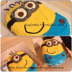 Cake Decorating – Dispicable Me Minion Cake (How To) #CakeDecorating #Minions #DispicableMe