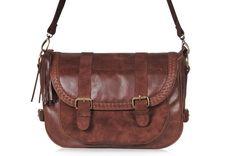 EVERMORE. Leather messenger bag / women messenger bag by BaliELF