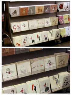 Kate Wilson's Little Bird Doodles greeting cards.