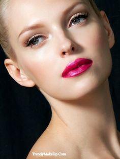 berry lip makeup