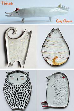 Clay Opera and Atelia Stella Ceramics to make you smile