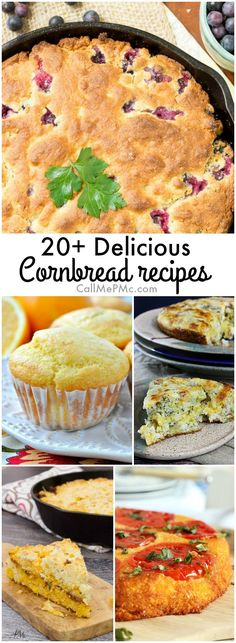 In the South, you have to have five basic recipes your arsenal. You need a great pimento cheese recipe, an out-of-this-world pound cake recipe, potato salad for all those potlucks, fried chicken, and, of course, an old-fashioned cornbread recipe. 20+ Delicious Cornbread Recipes