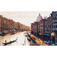 Found it at Wayfair.ca - Laren Canal of Venice Painting Print on Wrapped Canvas