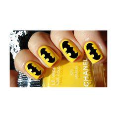 batman nail polish