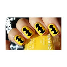 batman nail polish