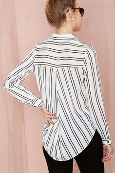 Comfy Striped Shirt