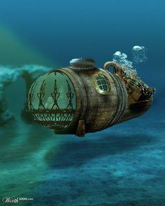 Rum Barrel Steamarine