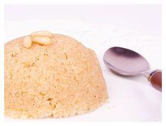 Χαλβάς με λεμόνι, μέντα και λευκή σοκολάτα Easy Desserts, Deserts, Cheese, Sweet, Tips, Recipes, Food, Drink, Losing Weight