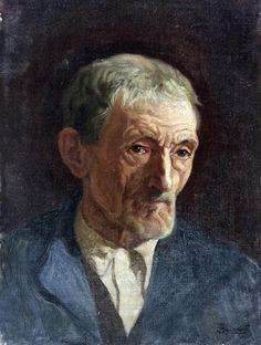 Retrato de viejo'. Obra de Anselmo Guinea