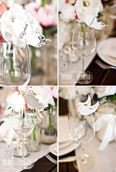 Vignettes on glasses