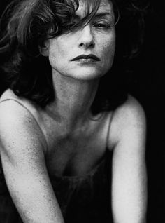Isabelle Huppert by Peter Lindbergh - stunning performance in psychologically disturbing 'La Pianiste'
