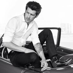 """Vinnie Woolston for YSL L'Homme Ultime """"Dare and Stage"""" campaign"""