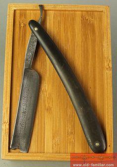 C. W.  Engels No 53 Rasiermesser ,straight razor, coupe choux,